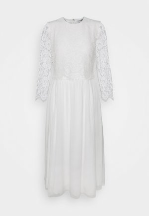 BRIDAL DRESS MIDI - Robe de cocktail - snow white