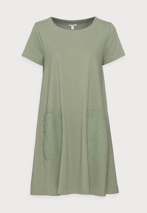 DRESS - Jerseyjurk - light khaki