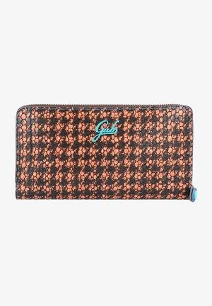 Wallet - orange/black/turquoise