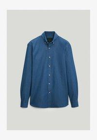 Massimo Dutti - Shirt - dark blue - 4