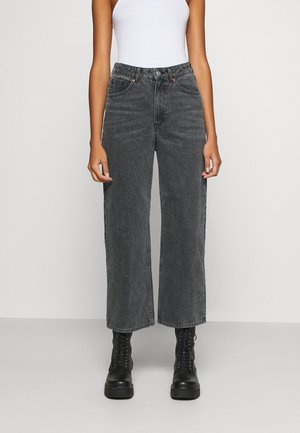 MOZIK - Relaxed fit jeans - black / dark grey