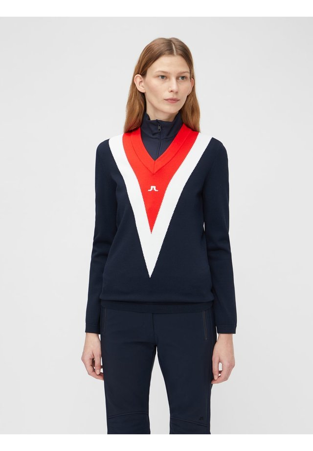 SHANNON  - Maglione - jl navy