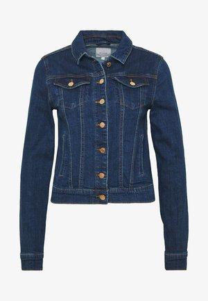 VISHOW JACKET - Spijkerjas - medium blue denim/vintage no wash