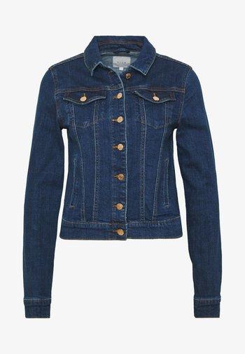VISHOW - Jeansjakke - medium blue denim/vintage no wash