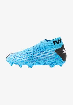FUTURE 5.1 NETFIT FG/AG - Moulded stud football boots - luminous blue/energy blue/black/pink alert