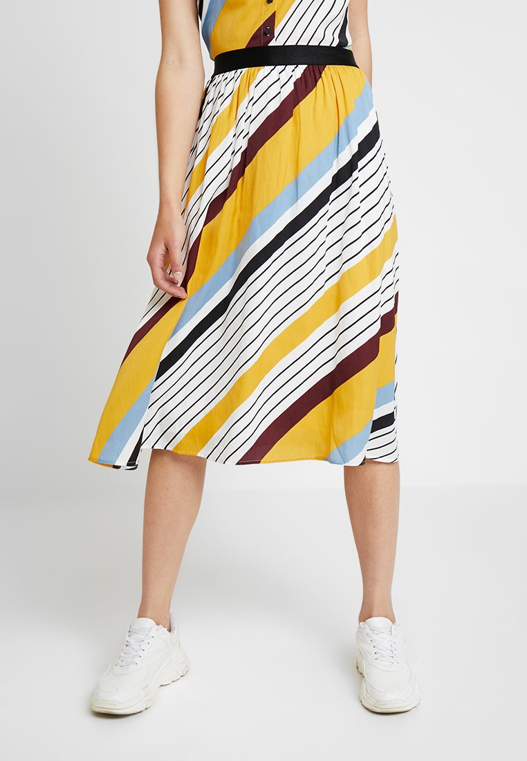 Gestuz - DIANONA SKIRT - A-line skirt - yellow