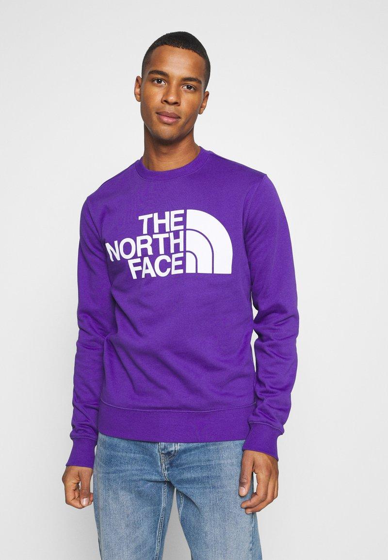 The North Face - STANDARD CREW - Sweatshirt - peak purple