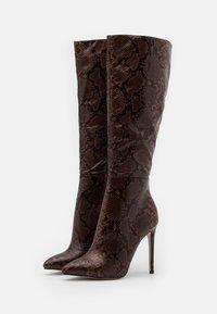 RAID - LAVERNE - High heeled boots - brown - 2