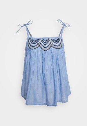 ETNA - Top - brunnera blue