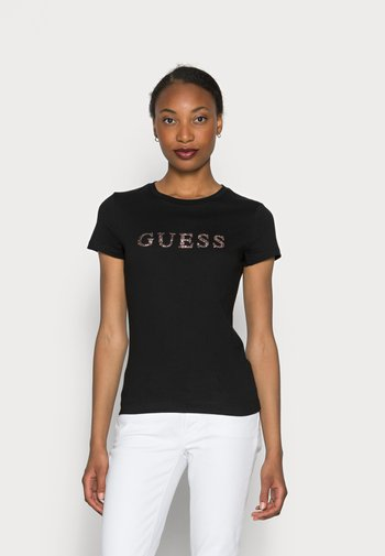KIMETZ TEE - Camiseta estampada - jet black
