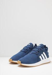 adidas Originals - X_PLR - Sneakersy niskie - tech indigo/footwear wihte - 2