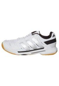 adidas Performance - ADIPOWER STABIL 10.1 - Handball shoes - running white/metallic silver - 4
