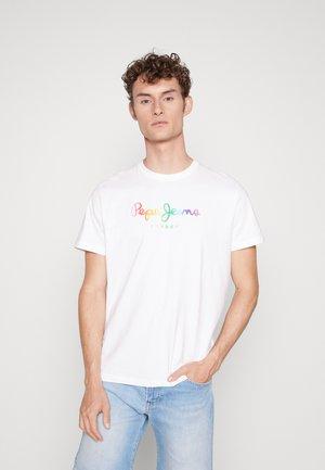 RIVERA PRIDE - Print T-shirt - white