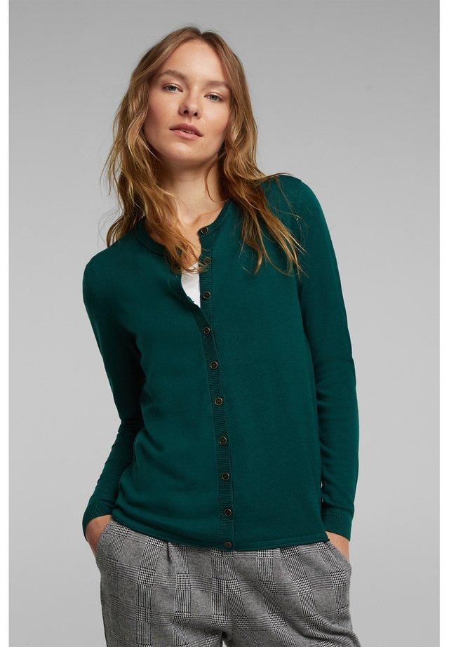 BASIC  - Vest - dark teal green
