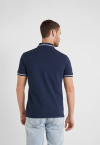 BOSS - PAUL CURVED  - Piké - navy - 2