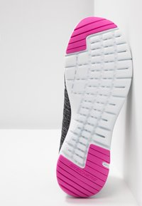 Skechers Wide Fit - FLEX APPEAL 3.0 - Trainers - black/charcoal/hot pink - 6