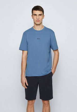 TCHUP - Basic T-shirt - blue