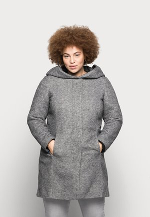 VMVERODONA - Short coat - dark grey melange