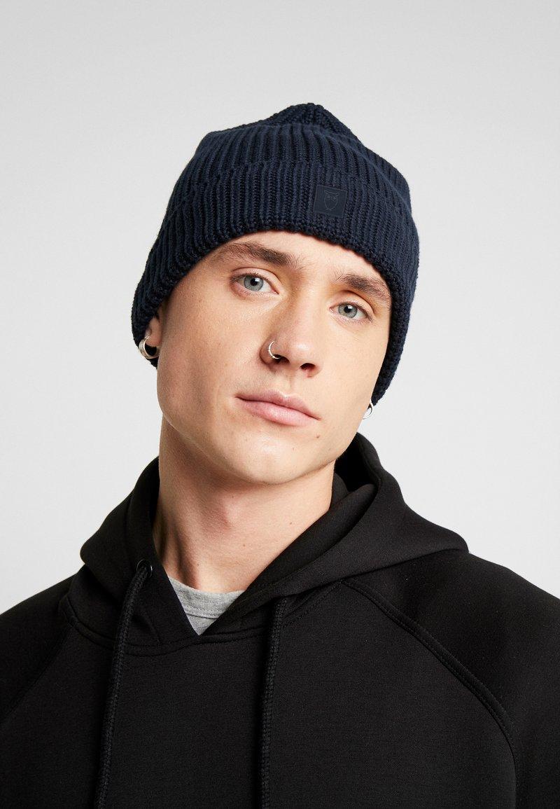 Knowledge Cotton Apparel - LEAF HAT UNISEX - Čepice - dark blue