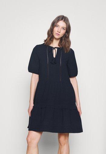 VMIBIA SHORT DRESS - Kjole - navy blazer