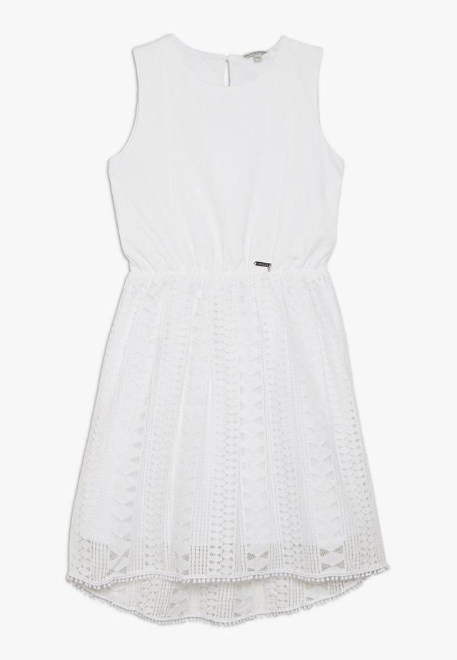 JUNIOR DRESS - Jerseyjurk - true white