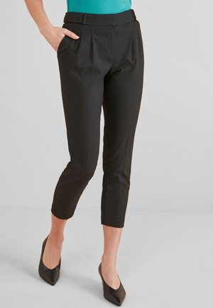 TAPER FIT  - Trousers - black