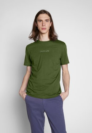 SHADOW LOGO  - T-shirt con stampa - green