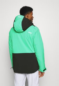 Oakley - INSULATED ANORAK - Snowboard jacket - black/mint - 2