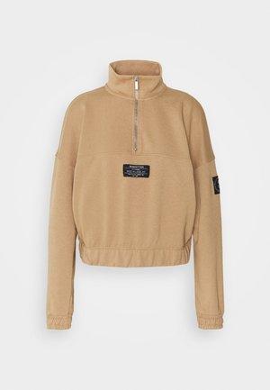 ONLKIRA LIFE HALF ZIP  - Sweatshirt - tigers eye