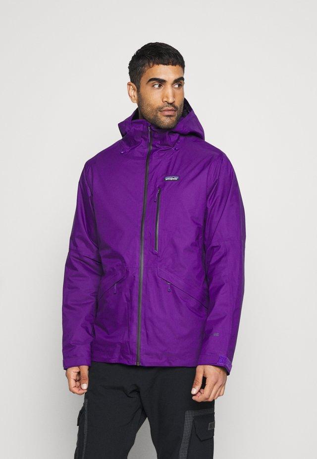 INSULATED SNOWSHOT - Laskettelutakki - purple