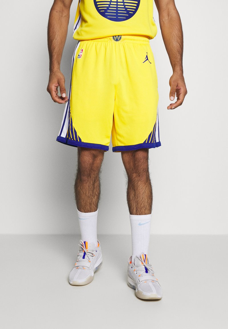 Nike Performance - NBA STATE WARRIORS SWINGMAN SHORT - Short de sport - amarillo/white/rush blue