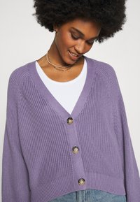 Monki - ZETA CARDIGAN - Kardigan - lilac purple medium - 4