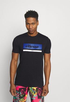 OSMAN - Print T-shirt - black