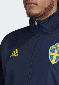 adidas Performance - SWEDEN SVFF PRESENTATION JACKET - National team wear - blue - 3