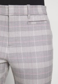 GAP - ANKLE  BISTRETCH - Trousers - grey plaid - 3