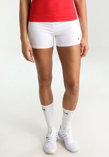 BALLPANT BELLA - Pantalón corto de deporte - white
