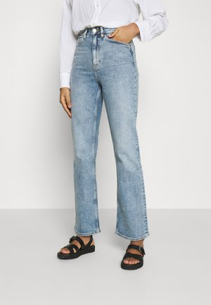 KAORI VINTAGE - Jeans a sigaretta - blue medium dusty