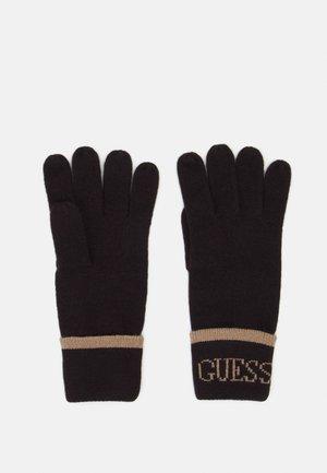 GLOVES - Rękawiczki pięciopalcowe - brown