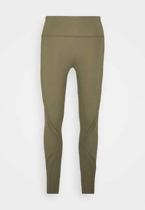 STITCHED TO PERFECTION 7/8  - Legging - deep moss