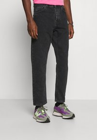 Carhartt WIP - NEWEL PANT MAITLAND - Relaxed fit jeans - black stone washed - 0