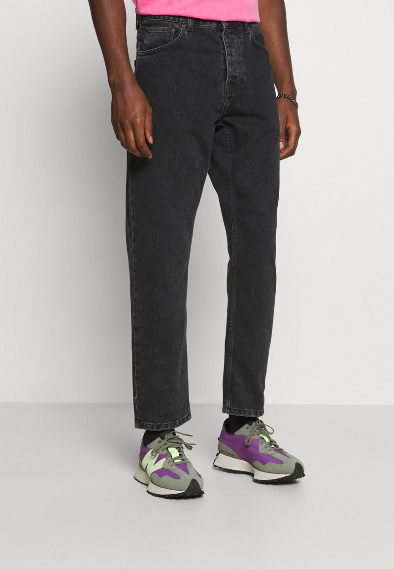 Carhartt WIP - NEWEL PANT MAITLAND - Relaxed fit jeans - black stone washed