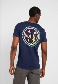 TOM TAILOR DENIM - T-shirt print - agate stone blue - 2