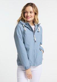 Schmuddelwedda - Outdoorová bunda - jeans blue mel - 0