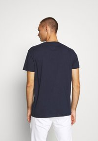Tommy Jeans - CORP LOGO TEE - T-shirt con stampa - twilight navy - 2