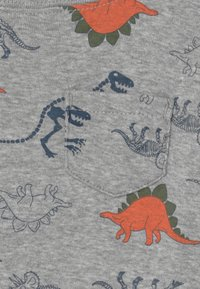 Carter's - DINO SET - Print T-shirt - khaki/grey - 2