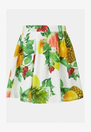 A-line skirt - blumenmuster