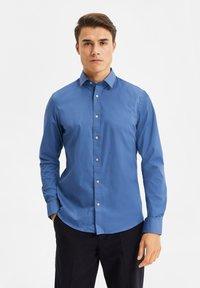 WE Fashion - Shirt - blue/grey - 3