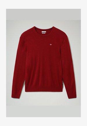 DAMAVAND CREW - Stickad tröja - vint amaranth