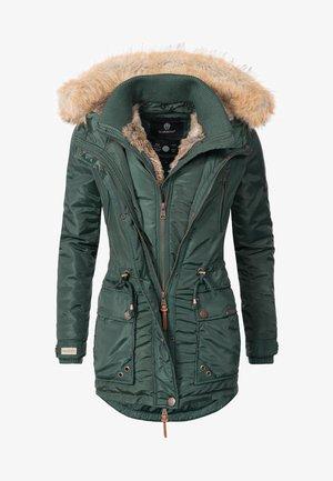 GRINSEKATZE - Winter coat - green