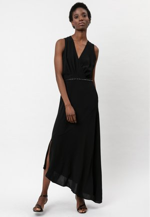 DIVISION - Maxi dress - jet black